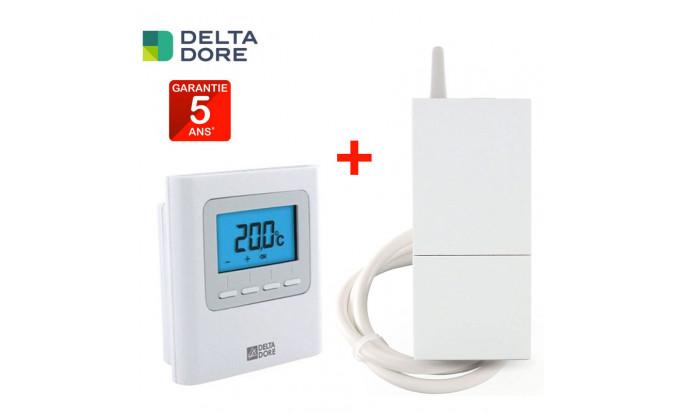 Pack Thermostat + Régulateur X3D sans fil programmable