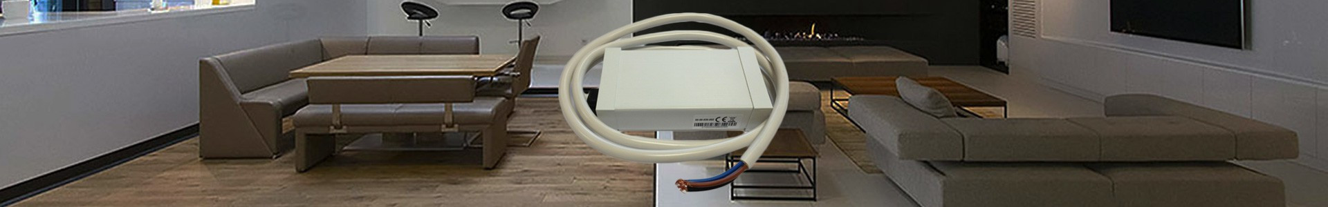 Récepteur radio pour radiateur à inertie sèche